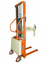 Semi-electric Stacker with reels spindle hydraulic control
